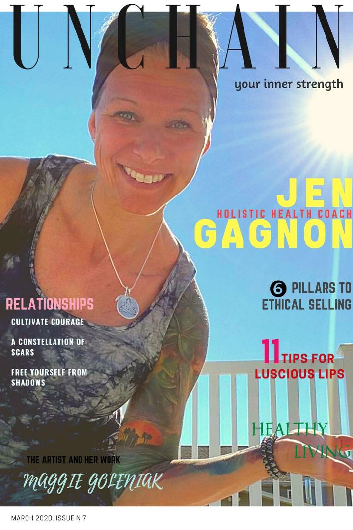 Unchain Your Inner Strength online magazine