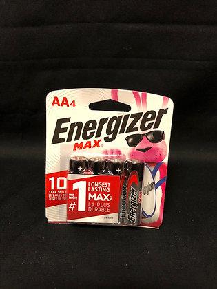 Energizer Max AAA4