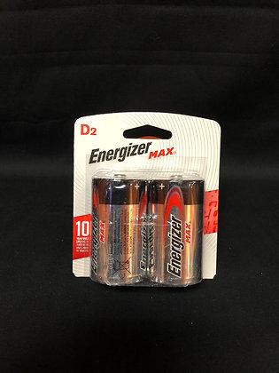 Energizer Max D2