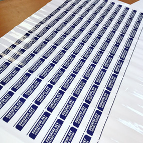 Stickers by Bella Blake Marketing in West Palm Beach Florida