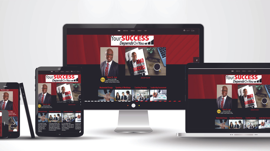Your Success Depends On You Website