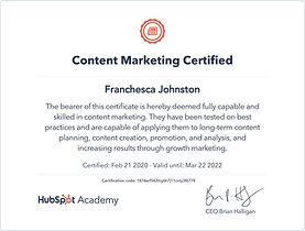 content marketing certified bella blake