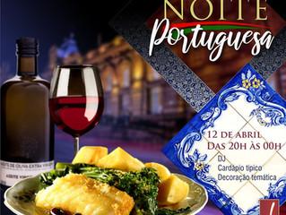 2ª Jantar noite Portuguesa do Restaurante Jardins