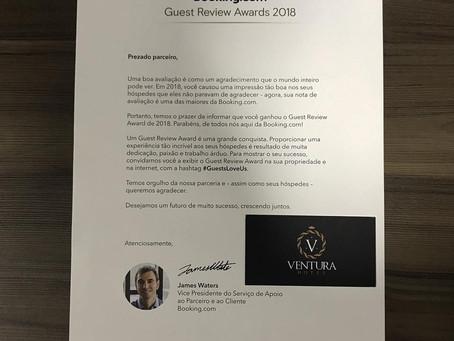 O Ventura Hotel é Guest Review Award!