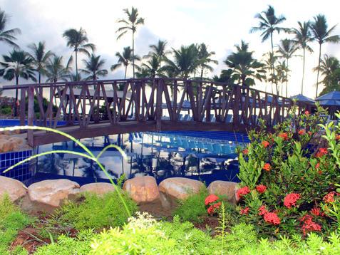 Ponte da piscina_Resort Jardim Atlantico