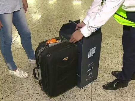 Bagagem de mão: a sua mala está dentro do limite?