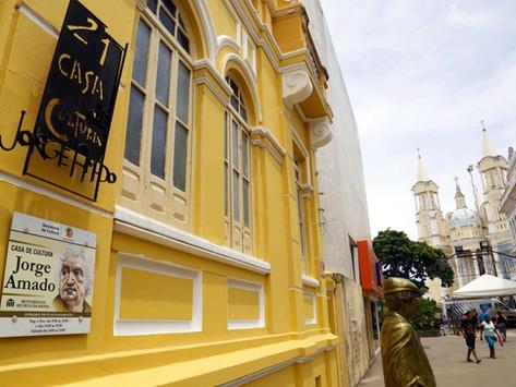 Conheça a Casa de Cultura Jorge Amado!