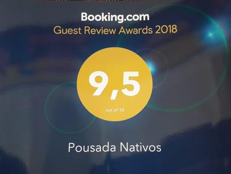 A Pousada Nativos é Guest Review Award!