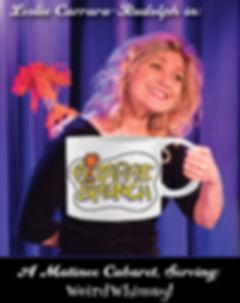 Bizarre Brunch - Leslie Holding Mug - NO