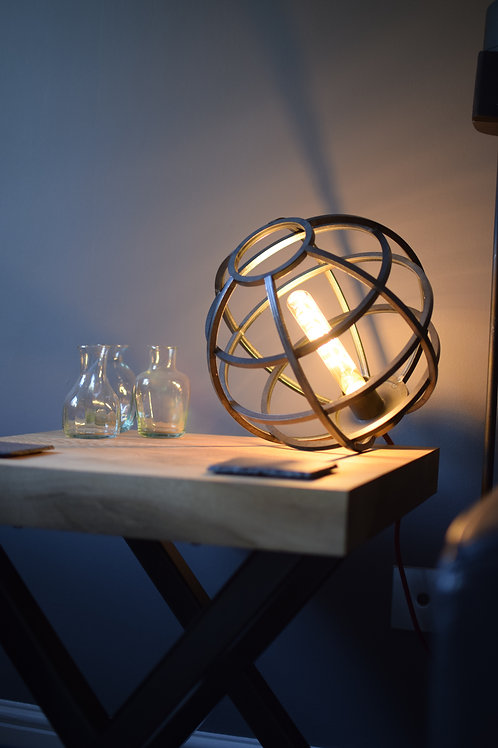 The Chartwell - Globe Table Lamp Sphere Light Bedside Lamp