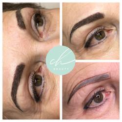 Korrektur eines alten Permanent Make-Ups