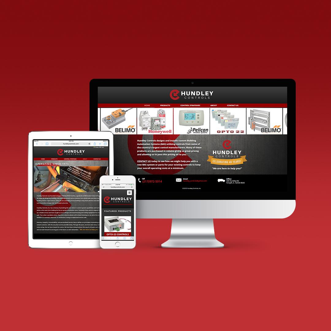 Hundley Controls Website