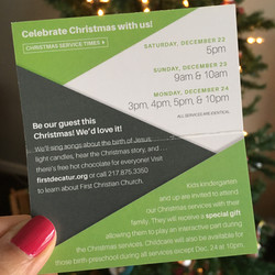 Christmas Invitation - Crystal Kirkman