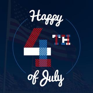 July 4 Social Media