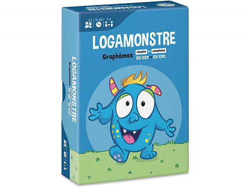 LOGAMONSTRE 9 : GRAPHÈMES SIMPLES ET COMPLEXES – CV/CCV OU CV/CVC