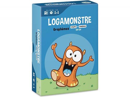 LOGAMONSTRE 7 : GRAPHÈMES SIMPLES ET COMPLEXES – CV/CV