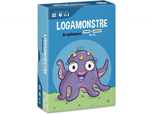 LOGAMONSTRE 8 : GRAPHÈMES SIMPLES ET COMPLEXES – VC/CV
