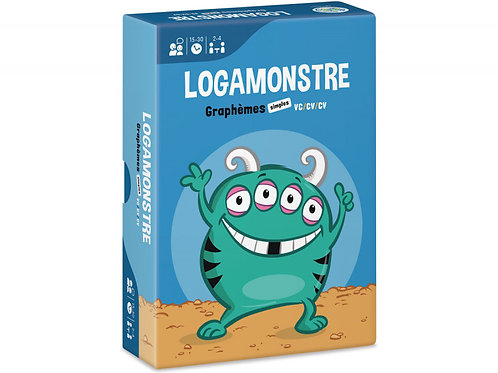 LOGAMONSTRE 5 : GRAPHÈMES SIMPLES – VC/CV/CV