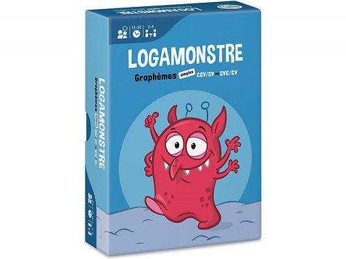 LOGAMONSTRE 3 : GRAPHÈMES SIMPLES – CCV/CV OU CVC/CV