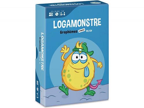 LOGAMONSTRE 2 : GRAPHÈMES SIMPLES – VC/CV