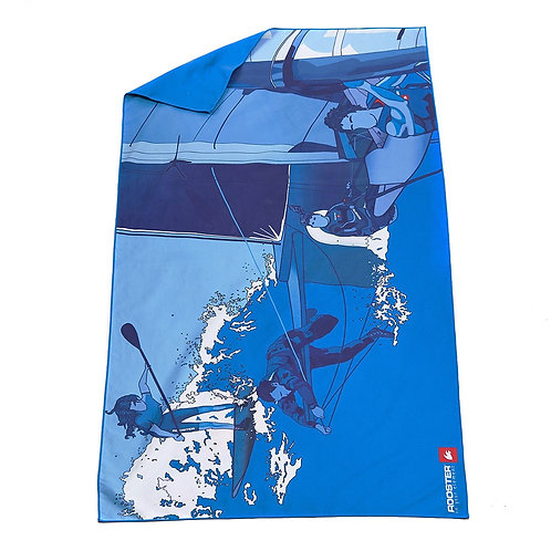 Graphic Microfibre Quick Drying Towel