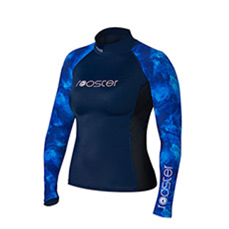 Rooster Women's Rash Top Long Sleeve