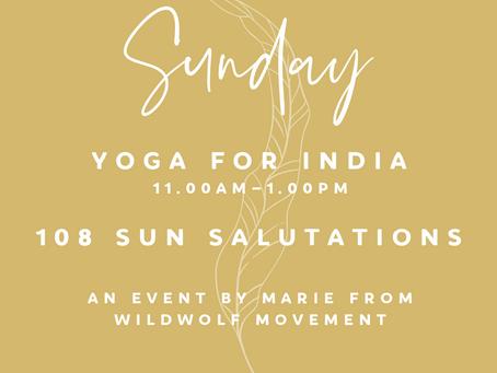 Yoga for India - 108 Sun Salutations