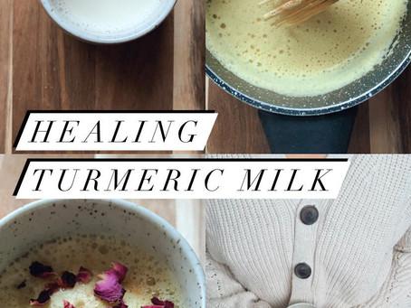 Healing Turmeric Milk