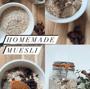 Homemade Muesli