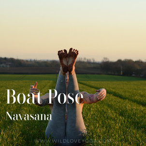 DAY 7 - Boat Pose #wildlove30days