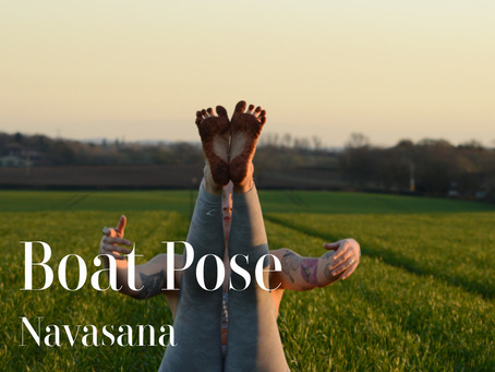 DAY 7 - Boat Pose #wildlove30days