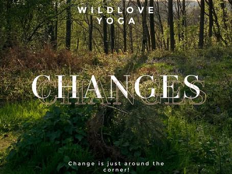 Ch ch ch changes!