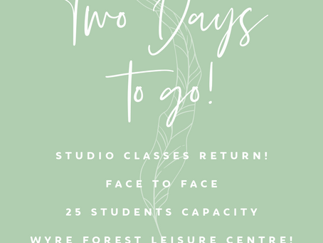 Two Days to go!