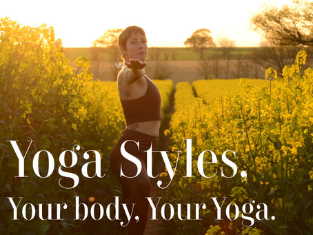 Your Body, Your Yoga - Class Styles