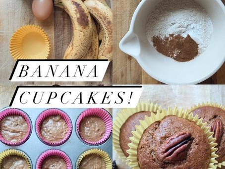 Banana Cupcakes!