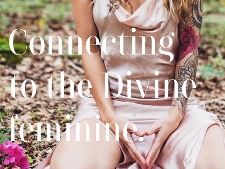 Connecting To The Divine Feminine Energy