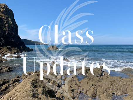 Classes Week Commencing 24.05.21