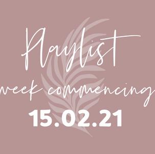 Playlists w/c 15.02.21