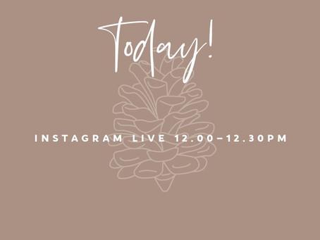Instagram Live free class!