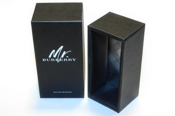 High quality perfume box with mirriboard inside