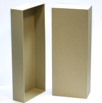 Paper over board puppet box