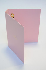 Ring binder with Brass fitment