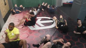 ground fight preparation