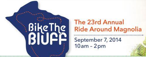 Mark Your Calendars!  Bike the Bluff 2014