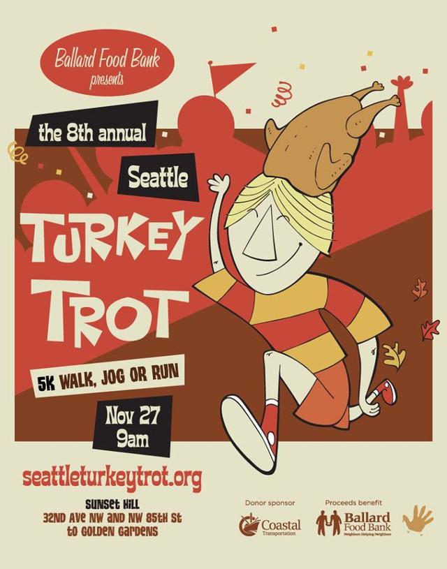 Mark Your Calendar: Nov 27th - 8th Annual Seattle Turkey Trot