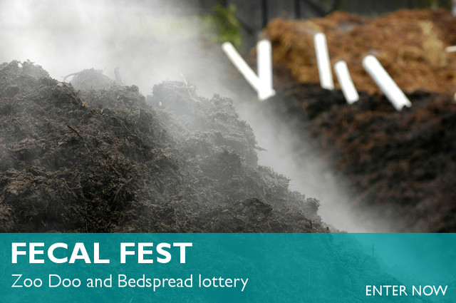 """Woodland Park Zoo's """"Fecal Fest"""" lottery for Zoo Doo begins today"""