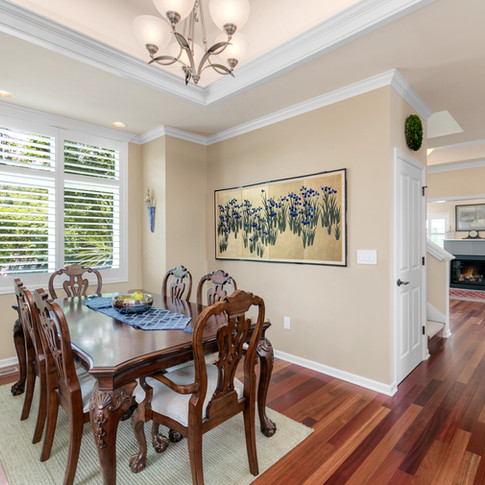 Dining room or bonus room