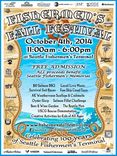 Mark Your Calendar: Fishermen's Fall Festival is this Saturday, October 4th
