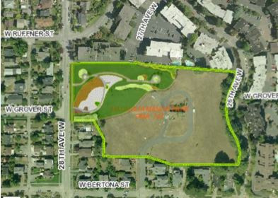 Seattle Park Commissioners Mtg on 11/13 will discuss Magnolia Manor Off-Leash Area