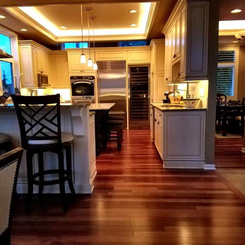 Cove lighting - Main kitchen